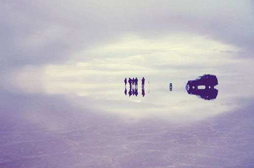 ウユニ塩湖の写真1