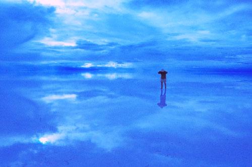 ウユニ塩湖の写真2