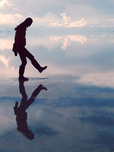 ウユニ塩湖の写真9