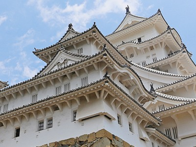姫路城外壁