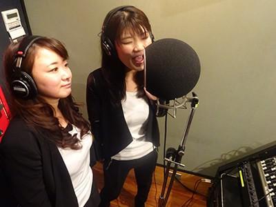 2人でレコーディング